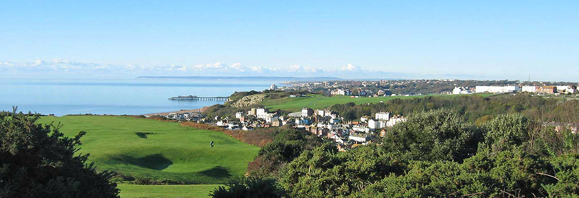 View from East Hill over Hastings