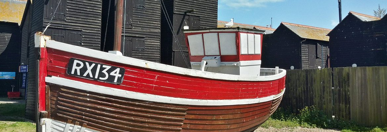 Hastings Fishing Boats