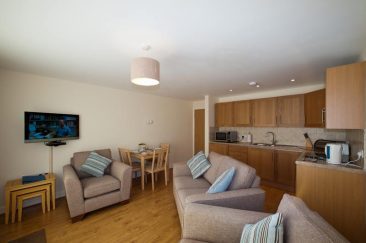 Lounge are of Rocklands Self Catering Apartments