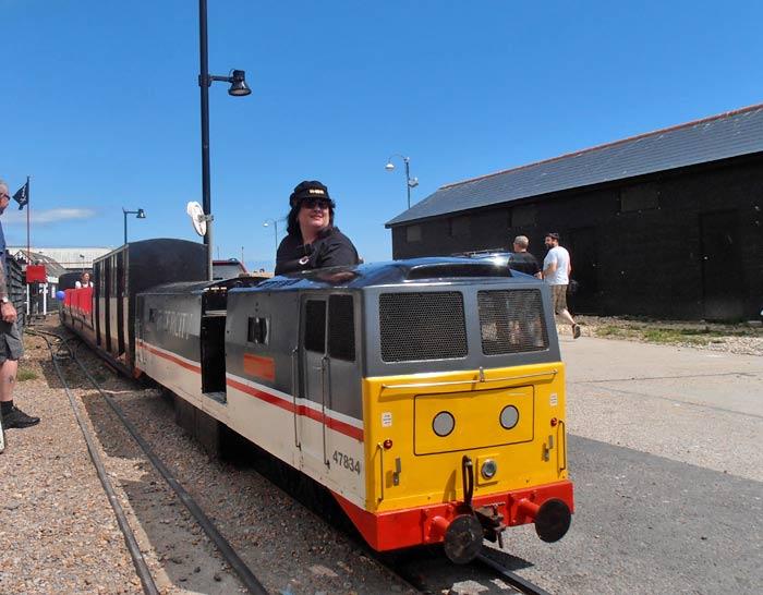 Beach Railway Hastings