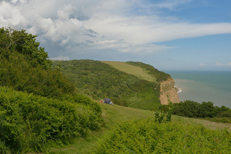 Views along the Hastings East Sussex Coastal Countryside