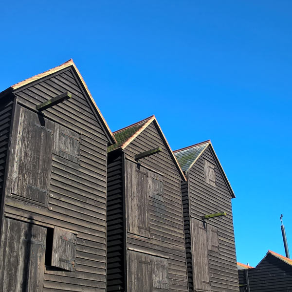 Fishermens Net Huts Hastings
